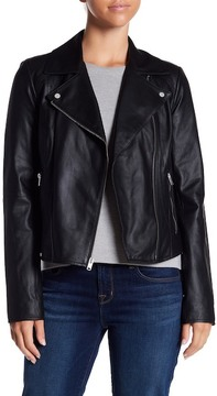 Andrew Marc Faith Leather Moto Jacket