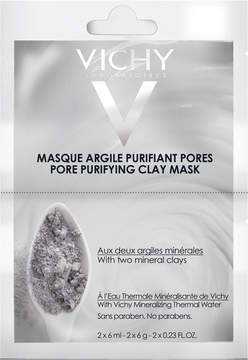 Vichy Pore Purifying Clay Mask Duo Sachet