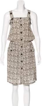 Barbara Bui Silk Midi Dress