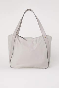 H&M Nylon Shopper - Brown