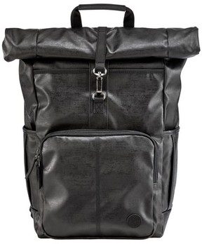 Timberland Men's Walnut Hill Carbon Roll Top Backpack - Black