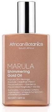 African Botanics Marula Shimmering Gold Oil, 3.4 oz./ 100 mL