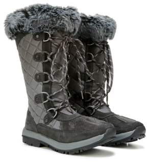 BearPaw Women's Quinevere Lace Up Winter Boot
