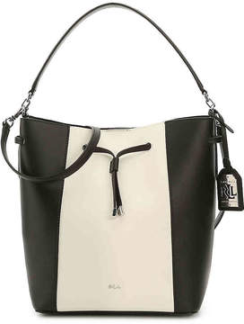 Lauren Ralph Lauren Women's Dryden Debby Leather Hobo Bag