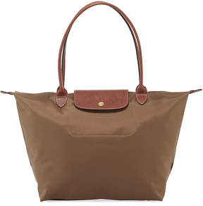 Longchamp Le Pliage Large Tote Bag - DARK BEIGE - STYLE