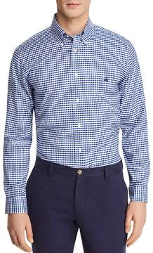 Brooks Brothers Oxford Gingham Classic Fit Sport Shirt