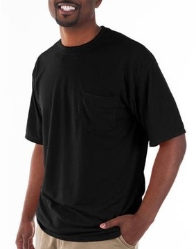 Gildan Big and Tall Men's Classic Short Sleeve T-Shirt with Pocket