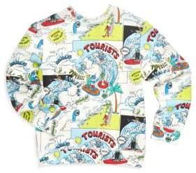 Stella McCartney Toddler's, Little Boy's& Boy's Biz Cartoon-Print Cotton Sweatshirt