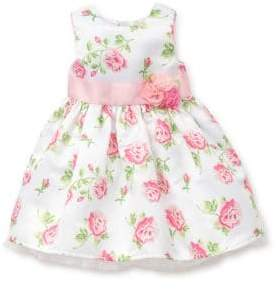 Little Me Baby Girl's Two-Piece Floral Dress and Bloomer Set