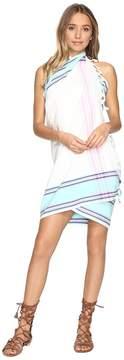 Plush Woven Beach Blanket Wrap