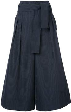 ADAM by Adam Lippes tie waist cropped trousers