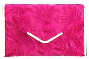 Nina Embroidery Envelope Clutch Bag