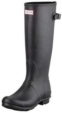 Hunter Flat Adjustable Matte Welly