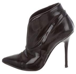 Proenza Schouler Patent Leather Pointed-Toe Booties
