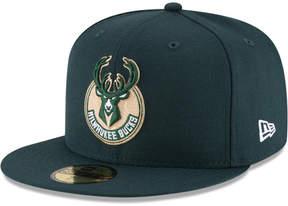 New Era Milwaukee Bucks Solid Team 59FIFTY Cap