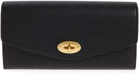 Nordstrom x Mulberry Darley Continental Leather Wallet