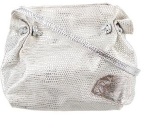 Carlos Falchi Metallic Crossbody Bag