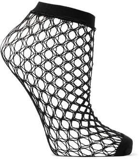 Falke Gil Fishnet Socks - Black