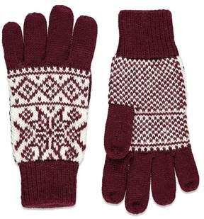Forever 21 Fair Isle-Patterned Gloves