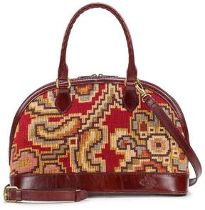 Patricia Nash Peruvian Tapestry Collection Tarma Satchel