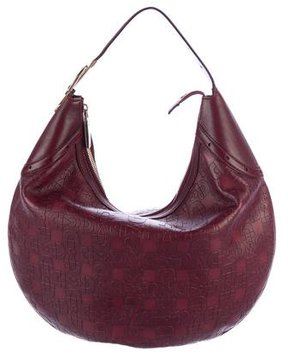 Gucci Horsebit Glam Hobo - RED - STYLE