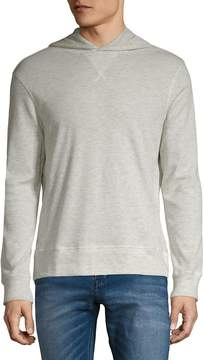 Michael Bastian Men's Honeycomb Heathered Hoodie