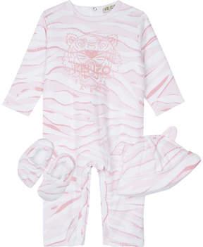 Kenzo Tiger stripe three piece baby set 1-12 months