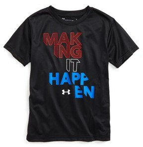 Under Armour Toddler Boy's Making It Happen Heatgear T-Shirt