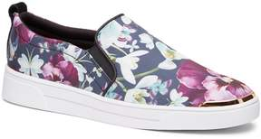 Ted Baker Tancey Text Entangled Floral Slip-On Sneaker
