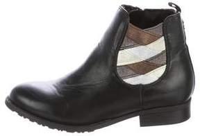 Stuart Weitzman Girls' Bella Chelsea Leather Boots