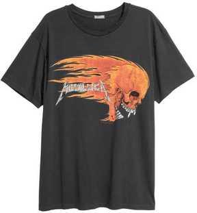 H&M Cotton Jersey T-shirt