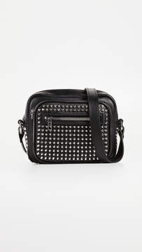 McQ Alexander McQueen Studded Cross Body Camera Bag