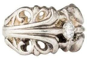 Chrome Hearts Diamond Filigree Ring