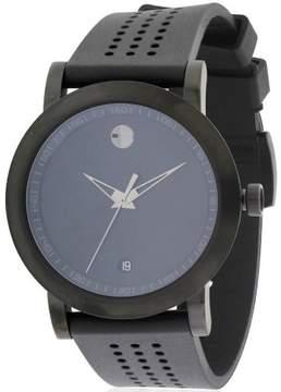 Movado Museum Sport Black Rubber Men's Watch, 0607038