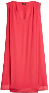 Jil Sander Navy Crepe Mini Dress