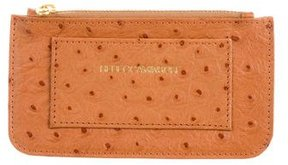Rebecca Minkoff Embossed Coin Pouch - BROWN - STYLE