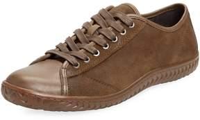 John Varvatos Men's Lace-Up Low Top Sneaker