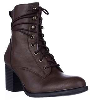 American Rag Ar35 Laina Lace Up Boots, Brown.