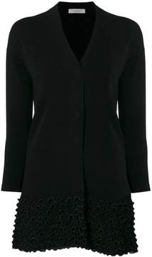 D-Exterior D.Exterior embroidered fitted cardigan