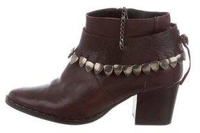 Freda Salvador Embellished Ankle Boots