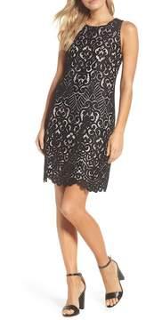 Eliza J Lace Shift Dress