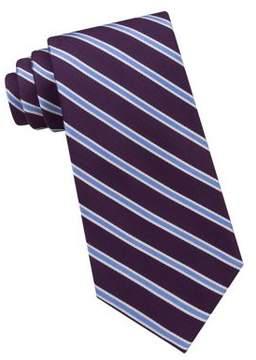 Lord & Taylor The Mens Shop Mini Striped Silk Tie