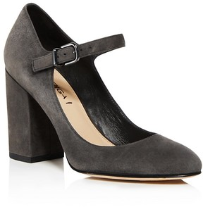 Via Spiga Deanna Mary Jane Block Heel Pumps