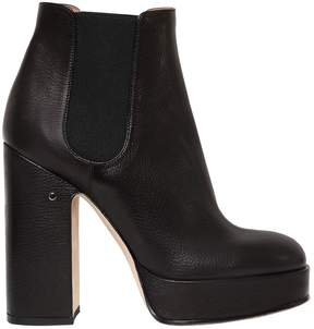 Laurence Dacade 120mm Rosa Leather Platform Boots