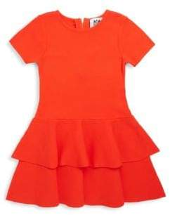 Milly Minis Little Girl's& Girl's Flare Tiered Dress