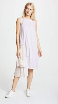 Clu T-Shirt Dress with Pleats
