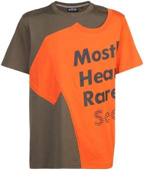 Mostly Heard Rarely Seen logo patch T-shirt