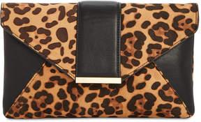 INC International Concepts I.n.c. Leopard-Print Luci Clutch
