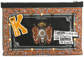 Dolce & Gabbana K Patch clutch