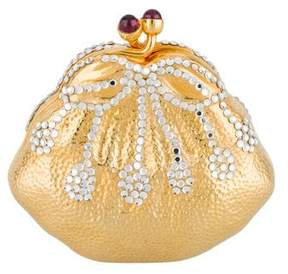 Judith Leiber Embellished Handbag Pillbox